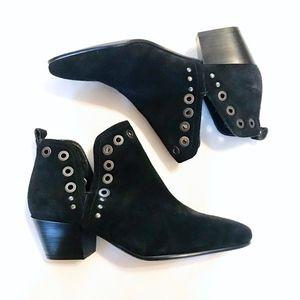 Sam Edelman | Paula suede ankle boots black